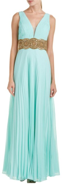 Item - Blue Gown Long Formal Dress Size 4 (S)