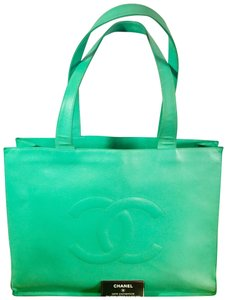 Chanel Tote in Light Green