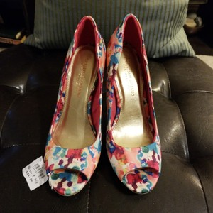 Christian Siriano for Payless Splatter watercolor pump! Perfect for spring with very saturated colors! Pumps
