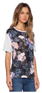The Fifth Label Street Wear Silk Oversized T-shirt T Shirt Floral