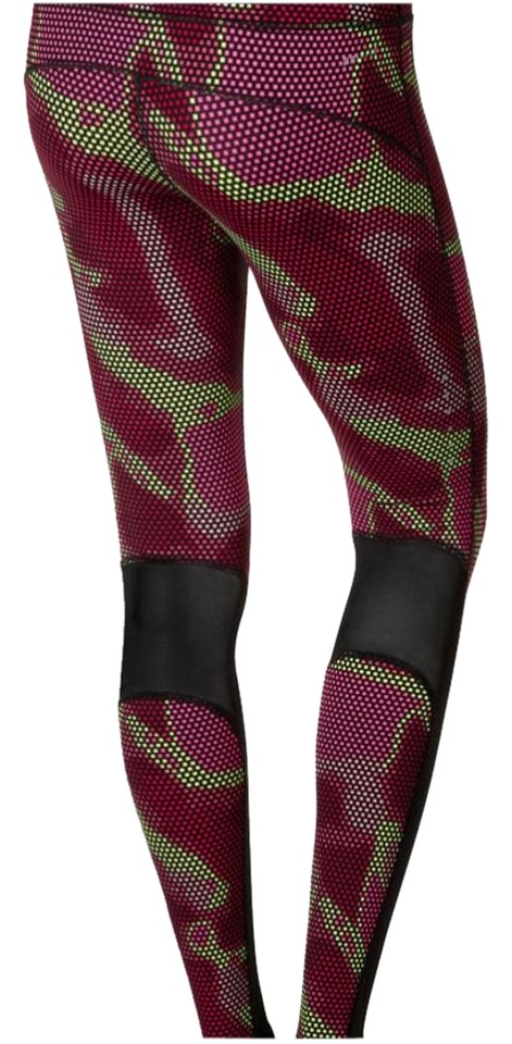 Nike Pink Lux Tights Multicolor Running Jogging Small Activewear ... ee0ef53c3ae5