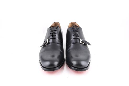 Christian Louboutin * Black Leather Dress Shoes Image 1
