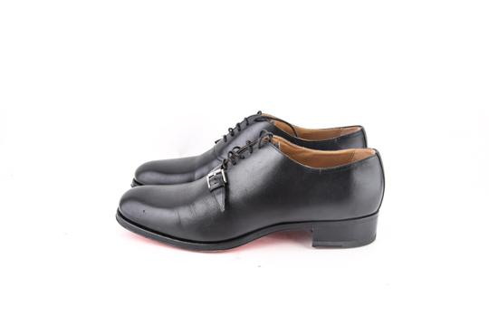 Christian Louboutin * Black Leather Dress Shoes Image 2