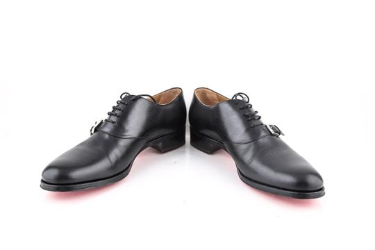 Christian Louboutin * Black Leather Dress Shoes Image 5