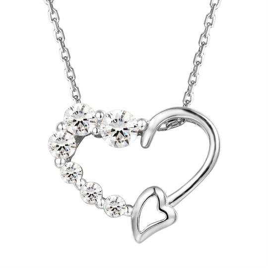 Preload https://img-static.tradesy.com/item/22833496/master-of-bling-silver-women-s-solitaire-lab-diamonds-heart-love-small-pendant-set-charm-0-0-540-540.jpg