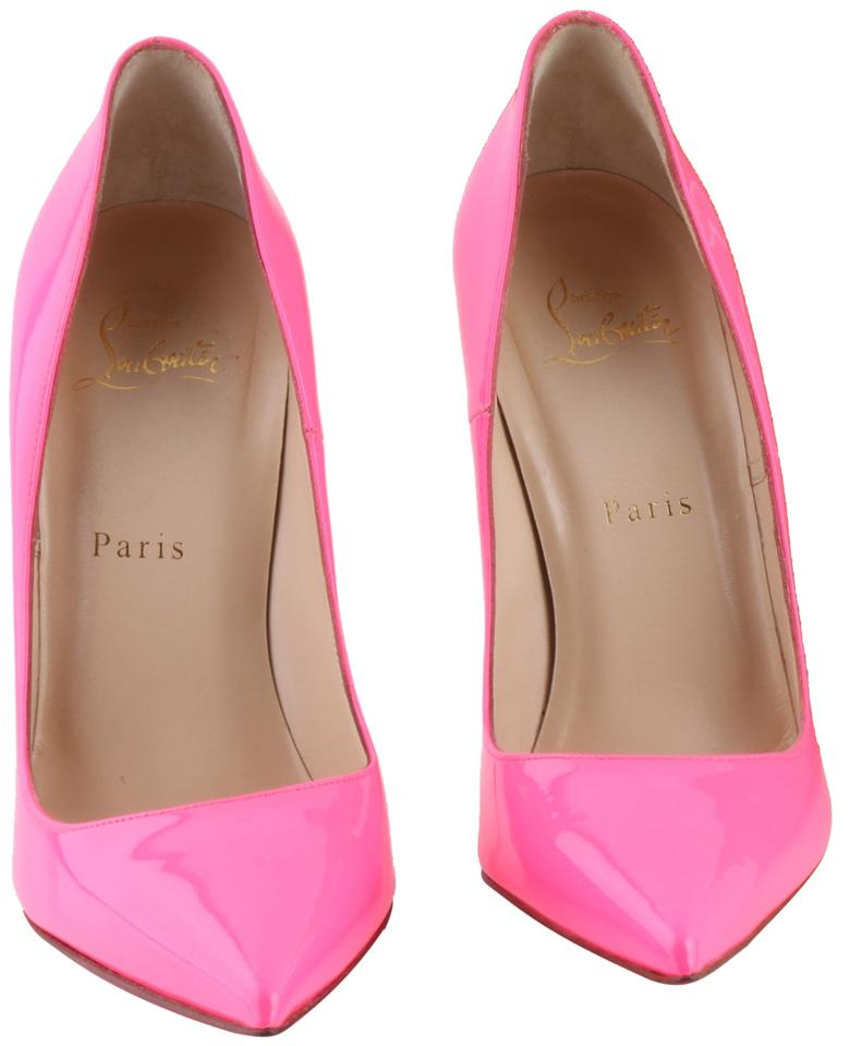 382dd6a9bd6 Christian Louboutin Pink So Kate Patent Leather Shocking Pumps Size US 9  Regular (M, B) 2% off retail