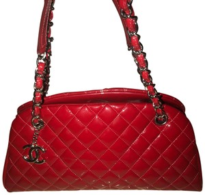 df9d17b500 Red Patent Leather Chanel Shoulder Bags - Up to 70% off at Tradesy