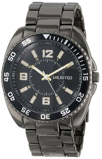 Other Unlisted Male Dress Watch UL1198 Gunmetal Analog