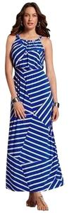 Blue Maxi Dress by Chico's Maxi Summer