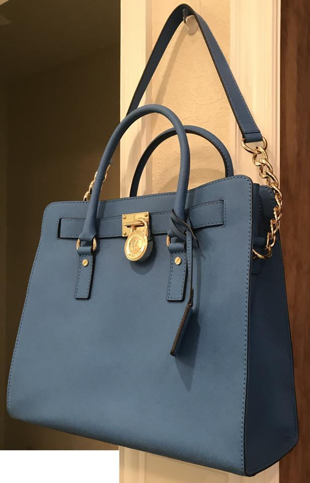 MICHAEL KORS TASCHE Hamilton Heritage Large Leather Tote WIE