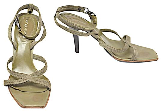 Preload https://img-static.tradesy.com/item/22834259/sergio-rossi-olive-nylon-x-strap-ankle-strap-heels-w-lobster-claw-clas-sandals-size-eu-36-approx-us-0-1-540-540.jpg
