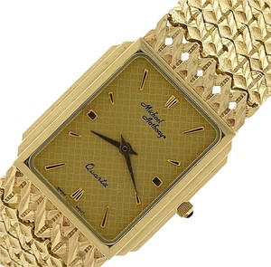 Michael Anthony Elegant Vintage Estate Michael Anthony 14K Yellow Gold Swiss Quartz Watch