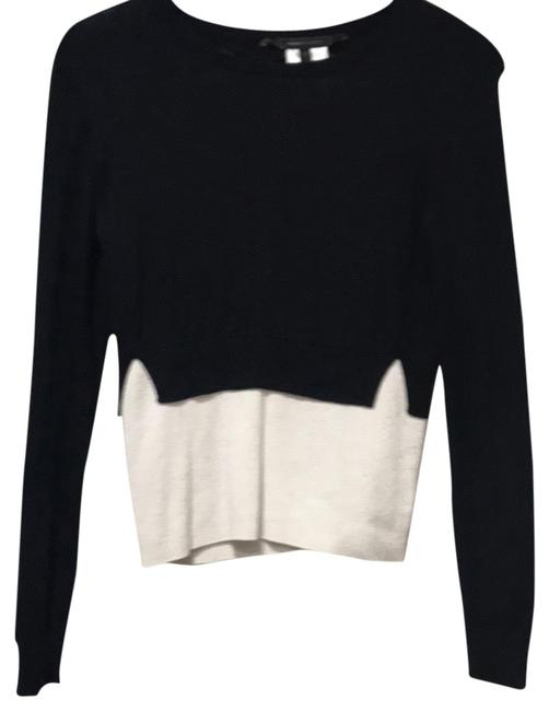 Preload https://img-static.tradesy.com/item/22834435/bcbgmaxazria-bcbg-black-combo-sweater-0-1-650-650.jpg