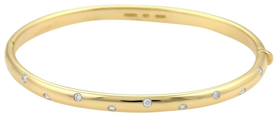 bangle beers micropav classic pav gold white micropave row half diamond bangles one de bracelet oval