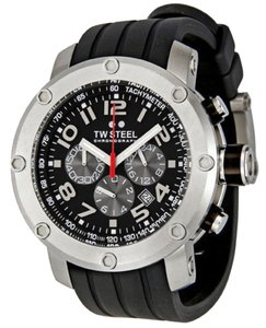 TW STEEL TW STEEL Male Dress Watch TW120 Black Analog