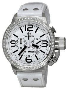 TW Steel TW STEEL Male Dress Watch TW10 White Analog