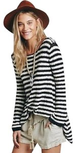 Free People Textured Stripes Tunic