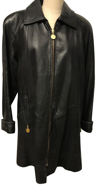 Preload https://img-static.tradesy.com/item/22834732/tannery-west-black-leather-in-small-coat-size-6-s-0-1-650-650.jpg