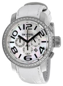 TW STEEL TW STEEL Male Dress Watch TW54 White Analog