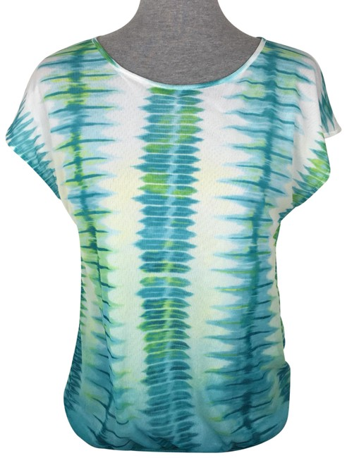 Preload https://img-static.tradesy.com/item/22834805/chico-s-white-blue-green-mesh-abstract-blouse-size-8-m-0-1-650-650.jpg