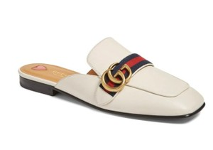 Gucci Peyton Loafers Marmont white Mules
