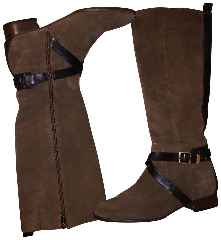 Louise et Cie Camel Lo-lienz and Dark Brown Lo-lienz Camel Boots/Booties 016456