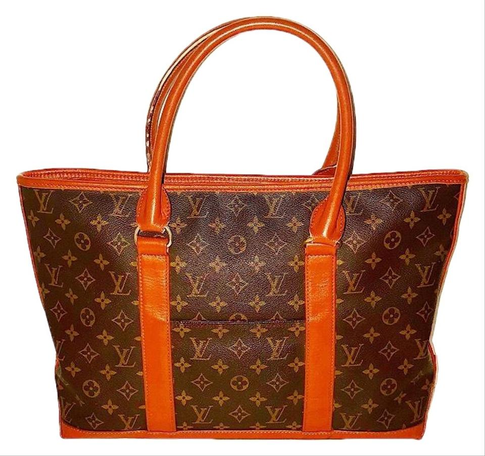 louis vuitton vintage monogram weekender pm tote tradesy. Black Bedroom Furniture Sets. Home Design Ideas