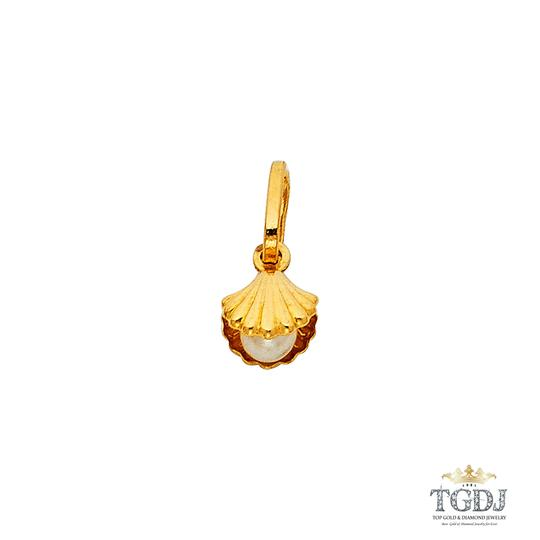 Preload https://img-static.tradesy.com/item/22835093/yellow-14k-shell-with-pearl-pendant-charm-0-0-540-540.jpg