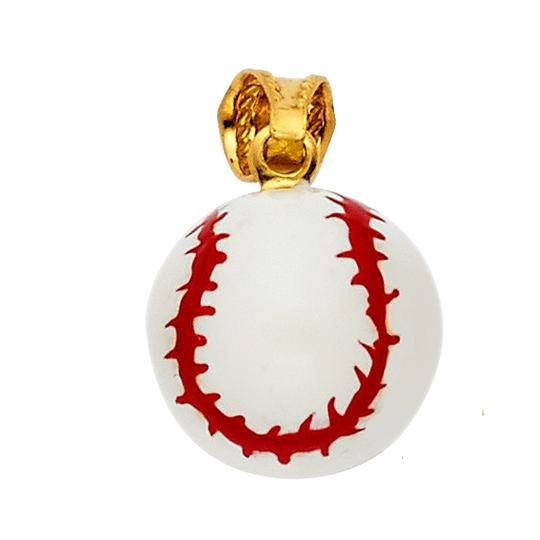 Preload https://img-static.tradesy.com/item/22835112/yellow-14k-baseball-enamel-pendant-charm-0-0-540-540.jpg
