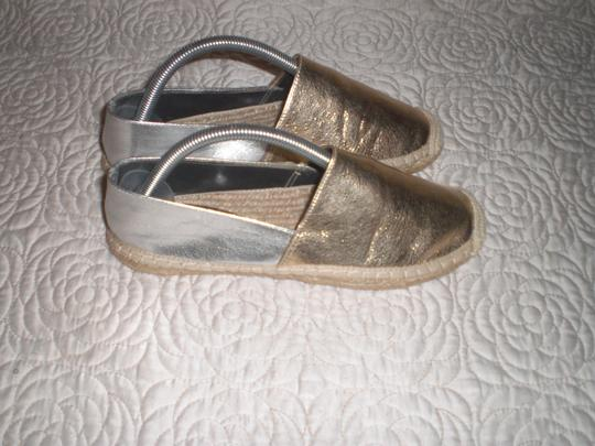 Rebecca Minkoff Gold and silver Flats Image 1