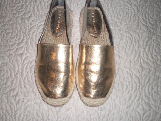 Rebecca Minkoff Gold and silver Flats Image 10