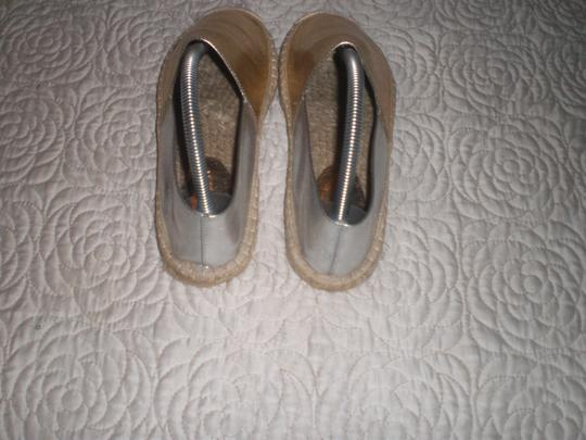 Rebecca Minkoff Gold and silver Flats Image 11