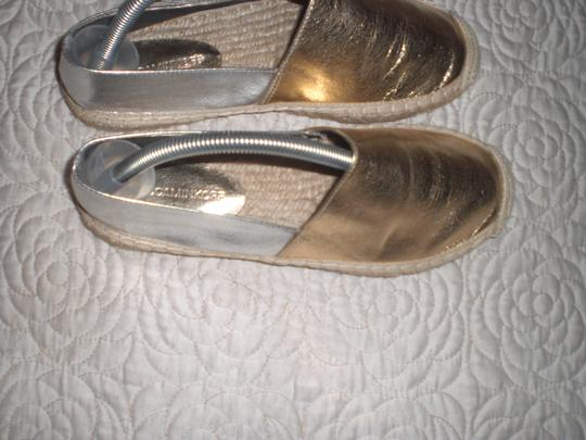 Rebecca Minkoff Gold and silver Flats Image 3