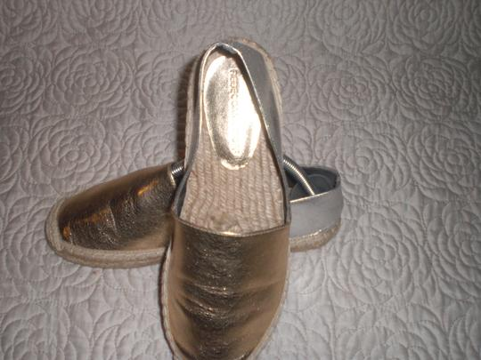 Rebecca Minkoff Gold and silver Flats Image 4