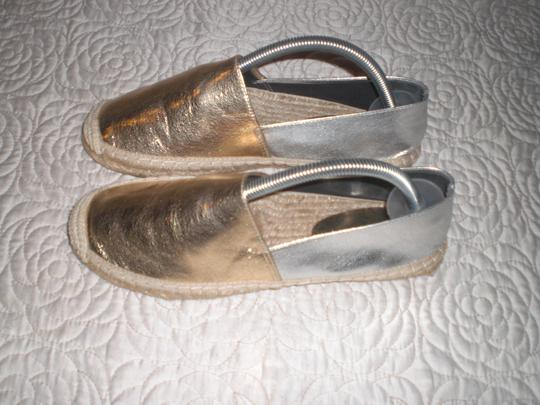 Rebecca Minkoff Gold and silver Flats Image 9