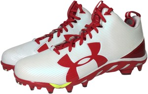 Under Armour Red, White Athletic