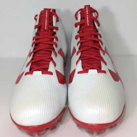 Under Armour Red, White Athletic Image 1