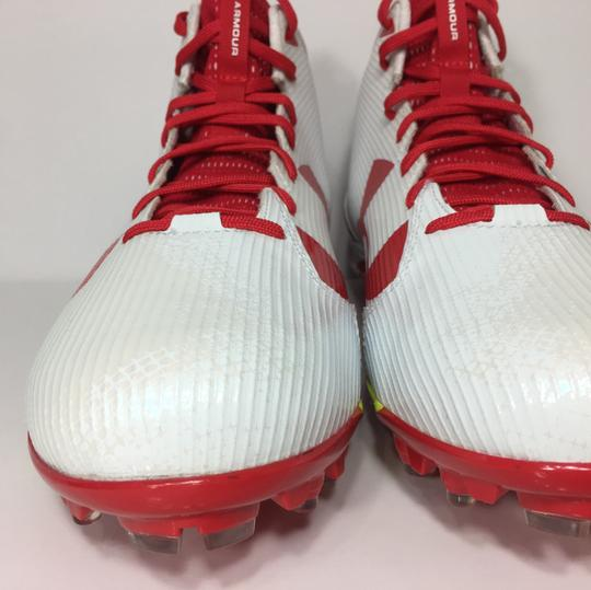 Under Armour Red, White Athletic Image 2