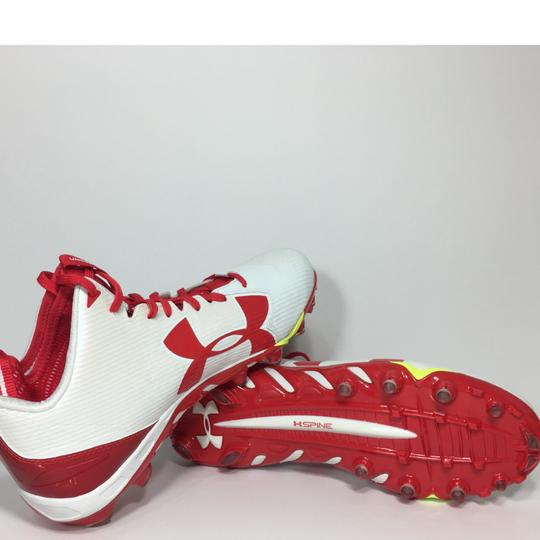 Under Armour Red, White Athletic Image 6