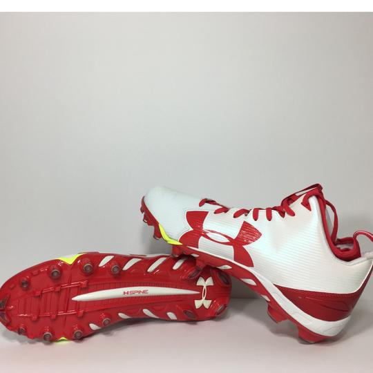 Under Armour Red, White Athletic Image 7