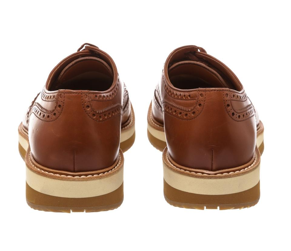 Sneakers Brogues Up 10 478353 Brown Leather Lace Prada nOwxqFHfBx