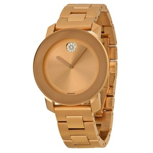 Movado Bold Rose Gold-Tone SS Ladies Watch