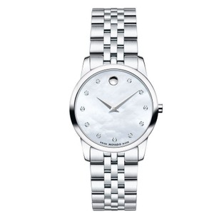 Movado Movado Women's Museum Mother of Pearl Diamond Dial Watch 0606612