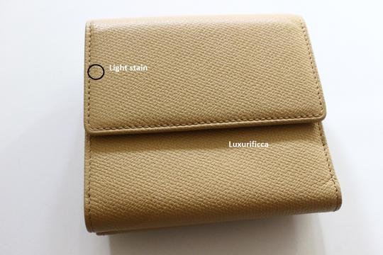 Chanel Authentic Chanel Beige Leather Wallet Image 3