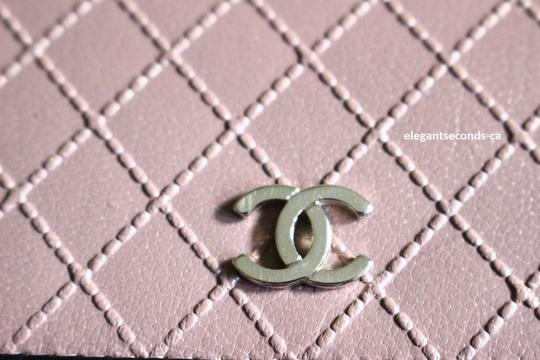 Chanel Chanel Long Leather Wallet Signature Chanel Diamond Pattern Image 9
