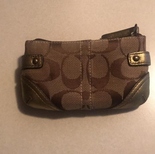 Coach coach mini wallet with buckles Image 1
