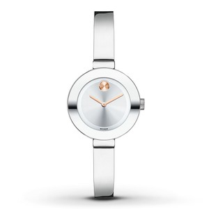 Movado Movado Women's Bold Silver Sunray Stainless Steel Watch 3600284