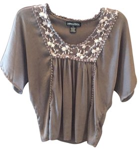 Living Doll Los Angeles Top grey