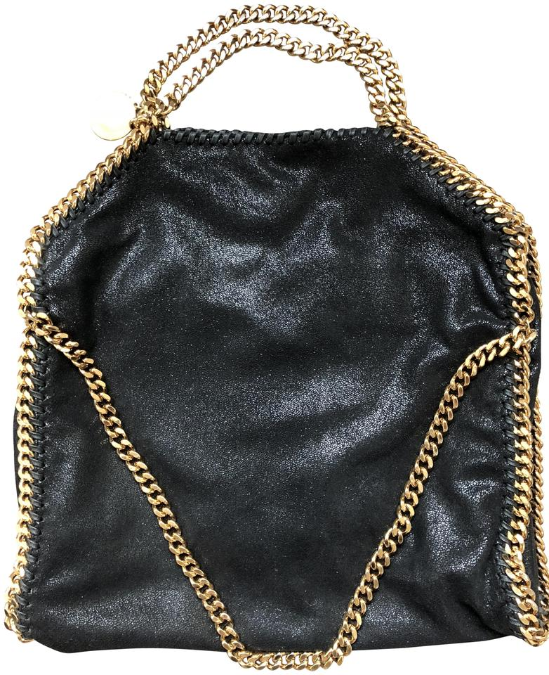 Stella McCartney Hardware Classic Casual Spring Tote in Black and Gold ... a21f4ee5a2a2c