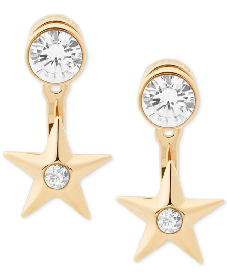 Preload https://img-static.tradesy.com/item/22836035/michael-kors-gold-tone-star-mkj6724710-earrings-0-0-540-540.jpg